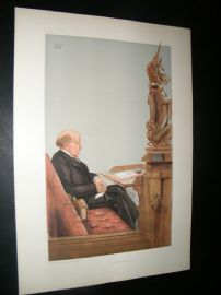 Vanity Fair Print 1903 Baron Shand, Legal